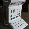 stainless steel raised bore control panel