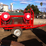 fire fighting trailer